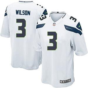 Buy Russell Wilson Seattle Seahawks Away Jersey: Size - Large by ON-FIELD