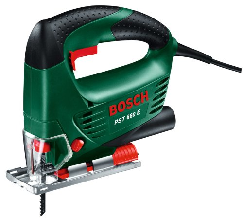 Bosch Pst 680 E Jigsaw in Carry Case