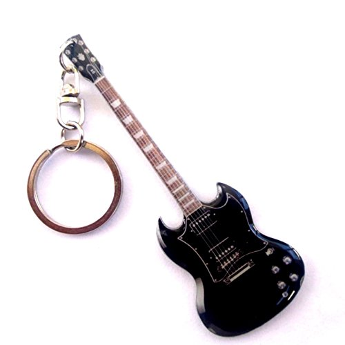 Portachiavi in metallo - AC / DC Angus Young Diavoletto Nera