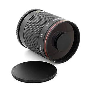 Albinar 500mm f/8 Super Telephoto Mirror Lens for Sony Alpha / Minolta AF Cameras SLT A77 A65 A35 A55 A33 A580 A560 A390 A330 A230 A350 A300 A200 A290 A450 A500 A550 A380