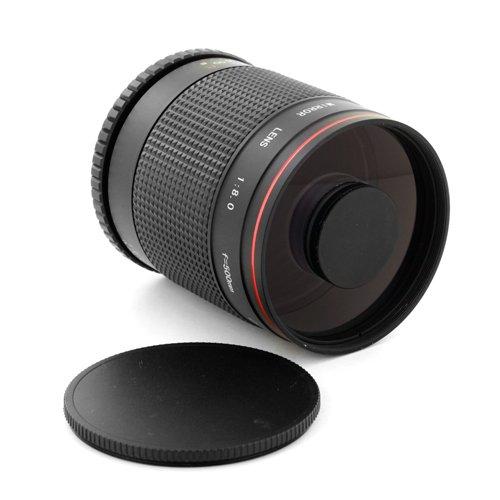 Albinar 500Mm F/8 Super Telephoto Mirror Lens For Pentax Pk Cameras K-5 K-R X 7 Kr Kx K7 K5 K20D K-M Km K2000 K200D K100D *Ist D Ds Dl Ds2 Dl2 K110D K10D