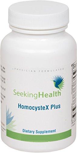 Homocystex Plus | Provides Vitamins B2, B6, B12, Quatrefolic And Trimethylglycine (Tmg) | Supports Methylation And Homocysteine Metabolism |60 Easy-To-Swallow Vegetarian Capsules |Physician Formulated | Seeking Health