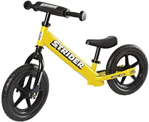 Strider ST-4 No-Pedal Balance Bike, Yellow, One Size