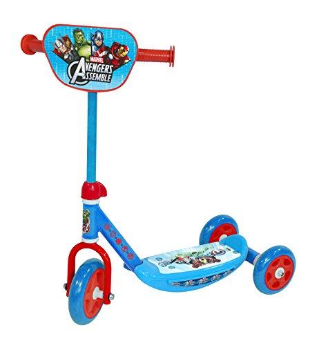 Avengers-Monopattino a 3 ruote, Saica Toys 9669)