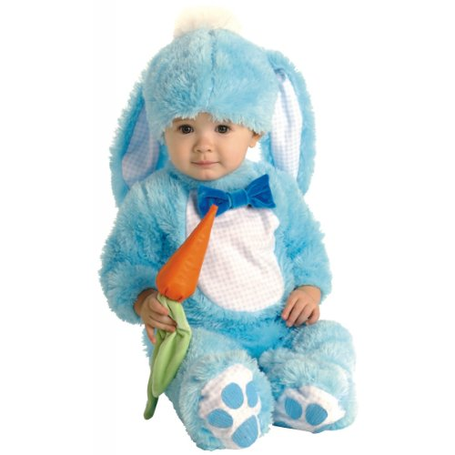 Baby Blue Bunny Costume - Infant 6-12 mths