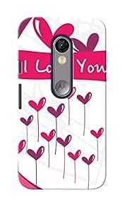 KnapCase I Love You Designer 3D Printed Case Cover For Motorola Moto G Turbo Edition
