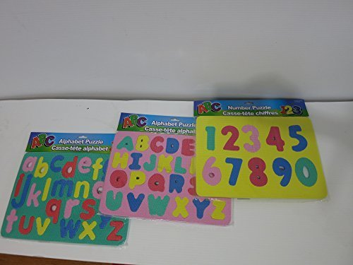 Alphabet and Numbers Foam Puzzle
