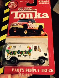 Tonka Die Cast Collection,party Supply Truck
