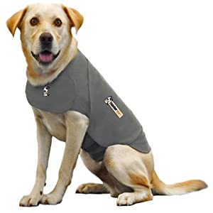 Thundershirt XL Heather Grey Dog by Thundershirt.com