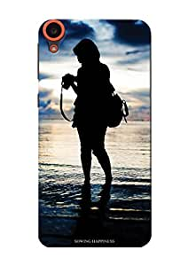 Sowing Happiness Printed Back Cover for HTC Desire 820