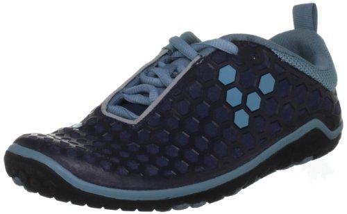 Vivobarefoot Women's Evo II L Running Shoe,Navy/DT Blue,38 EU/8 M US