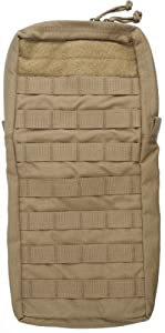 Tactical Assault Gear MOLLE Hydration 100oz Bladder Carrier, Large, Coyote MH2O1-CT by Tactical Assault Gear