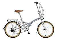 Viking Easy Street Folding Bike - Silver, 14-Inch by Viking