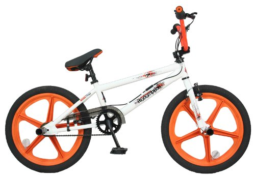 Redemption Mag Wheel Boys BMX Bike - White/Orange, 20 inch