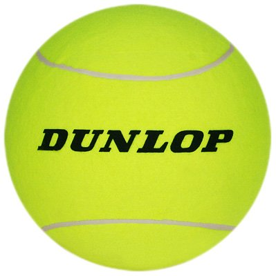 Dunlop Sports Giant Tennis Ball