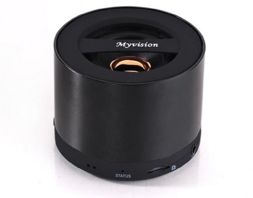 Blue Melody Best Potable Mini Top Rated Stereo Travel Wireless Bluetooth Speaker For Apple Iphone Ipad Ipod Samsung Motorola Philips Laptop Sd Card Bl-N9 Black