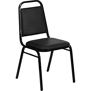 Flash Furniture FD-BHF-2-GG Hercules Series Upholstered Stack Chair