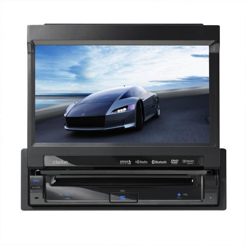 "Clarion Vz400 7"" In-Dash Single-Din Touchscreen Dvd/Cd/Mp3/Usb Receiver With Bluetooth"