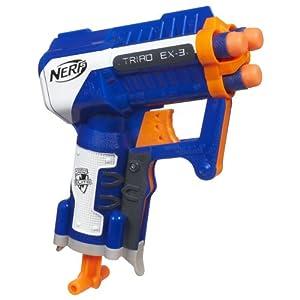 Nerf N-Strike Elite Triad EX-3 Blaster (Colors may vary)