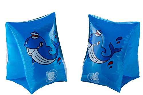 Childrens Inflatable Hand Tube Floating Aid for Swimming (blue) - 1