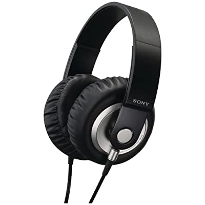 SONY Stereo Headphones MDR-XB500 BLACK   Extra Bass Closed Dynamic (Japan Import)