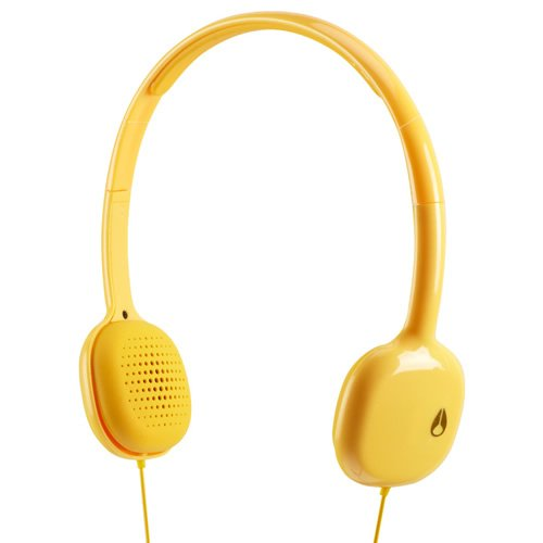 NIXON HEADPHONES: LOOP/ YELLOW NH022250-00