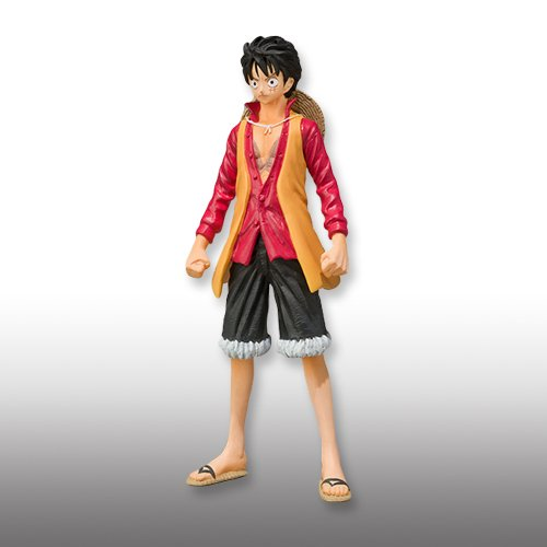ONEPIECE One Piece Super Modeling Soul The Movie - Decisive Battle for combat uniform - Monkey E D E Luffy separately figure Bandai