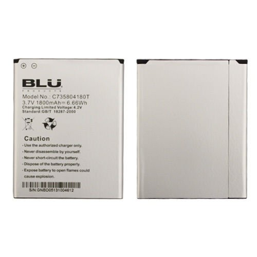 BLU Life Play L100 Original OEM Li-ion Battery - C735804180T (Blu Life Play Phone Accessories compare prices)