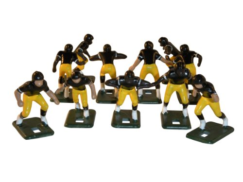 Electric Football 67 Big Men 11 In Yellow Black Home Uniform