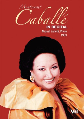 Montserrat Caballe in Recital [DVD] [1983] [Region 1] [US Import] [NTSC]
