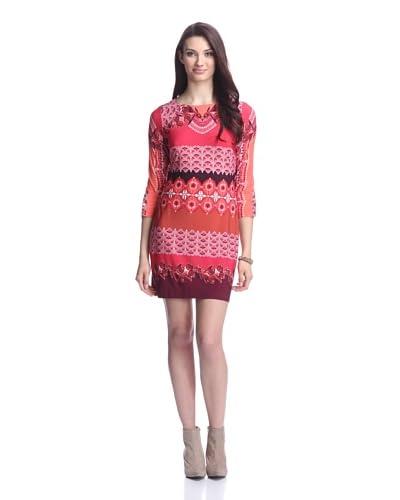 Ali Ro Women's Lone Sleeve Printed Dress