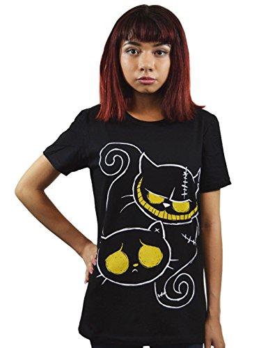 Akumu Ink -  T-shirt - Maniche corte  - Donna nero X-Large