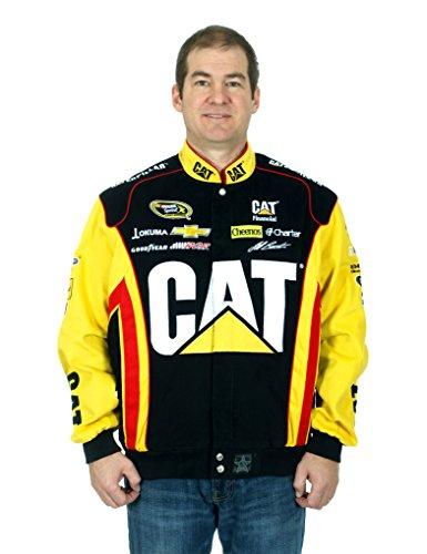 Jeff Burton Jacket - Caterpillar Sponsor Racing Jacket (Medium)