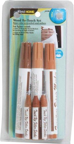 Dritz 44160 Light Wood Re-Touch Marker Set, Assorted