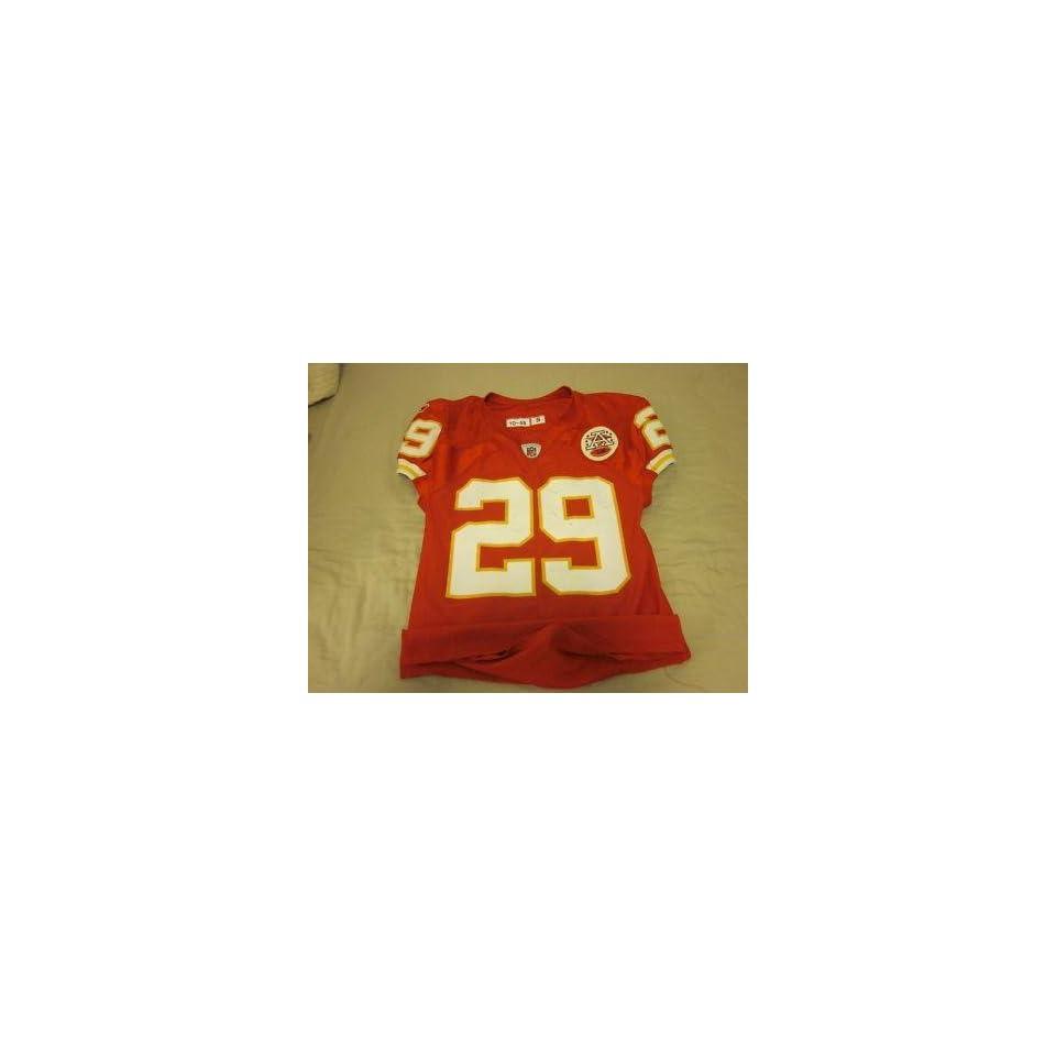 2010 Kansas City Chiefs Game Used Jersey Eric Berry   NFL Jerseys