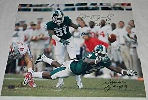 DARQUEZE DENNARD ISAIAH LEWIS SIGNED MSU MICHIGAN STATE SPARTANS 16x20 PHOTO COA -... by Sports Memorabilia