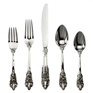 92 PC. BAROQUE FLATWARE SET