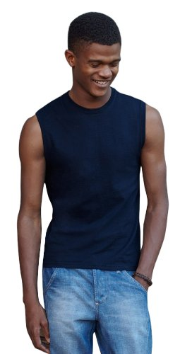 Fruit Of The Loom Mens Tank Top (XL, White)