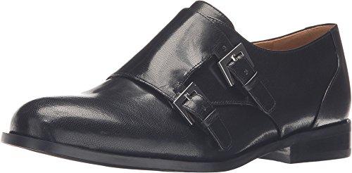 Nine West Women's Toastie Black Leather Oxford 8.5 M