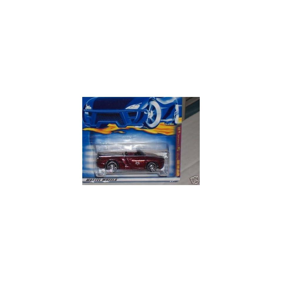 Mattel Hot Wheels 2001 164 Scale Maroon Dodge Sidewinder Die Cast Car #088