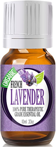 French Lavender (Organic) 100% Pure, Best Therapeutic Grade Essential Oil - 10Ml