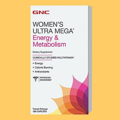 GNC Women's Ultra Mega Energy and Metabolism 180 Caplets New (Gnc Ultra Mega Energy Women compare prices)