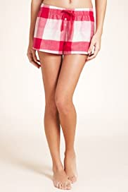 Pure Cotton Check Shorts [T37-2215-S]