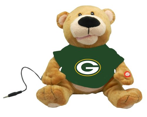 Green Bay Packers Party Teddy Bear Loud Mouth