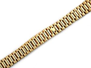 Ladies 14ky President Watch Band for Rolex President