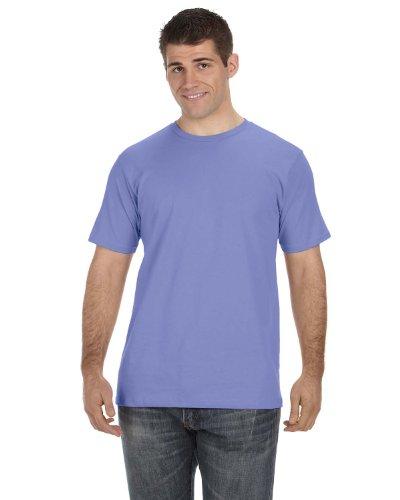 Anvil Or420 100% Organic Mens Cotton T-Shirt - Violet - 2Xl front-980628