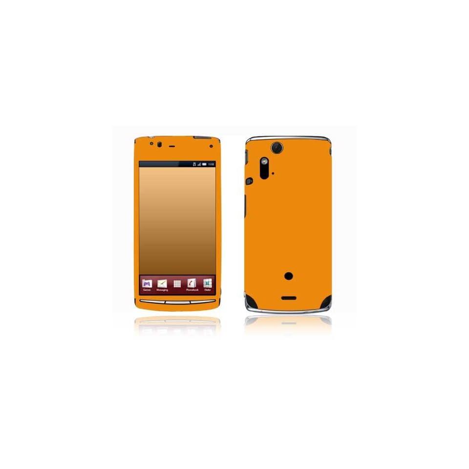 com Simply Orange Design Decorative Skin Cover Decal Sticker for Sony