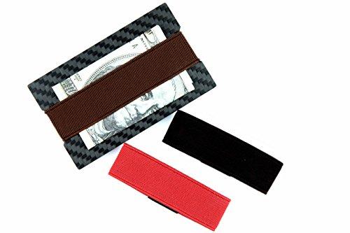 cl carbonlife tm carbon fiber money clip credit card holder slim wallet bott. Black Bedroom Furniture Sets. Home Design Ideas