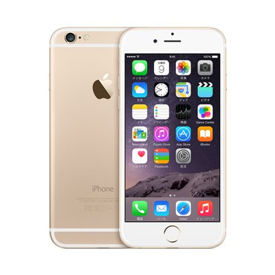 Apple iPhone6 A1586 (MG4J2J/A) 64GB ゴールド国内版 SIMフリー