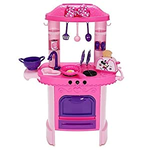 disney store minnie mouse kitchen playset with